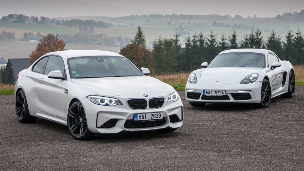 BMW M2 vs Porsche 718 Cayman -2 copy