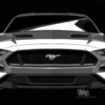 2018 Ford Mustang design sketch
