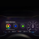 2018 Ford Mustang digital instrument cluster