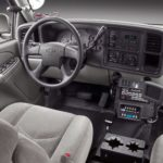 Chevy Tahoe Police Vehicle Interior