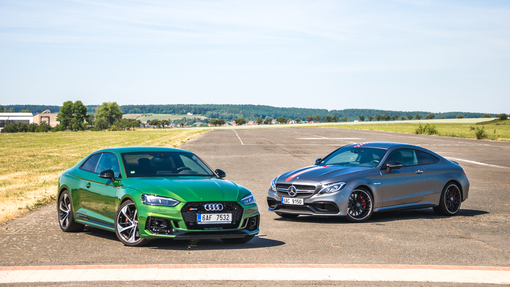 Audi RS 5 vs. Mercedes-AMG C 63