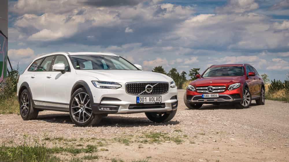 Volvo V90 CrossCountry vs. Mercedes-Benz E Allterrain