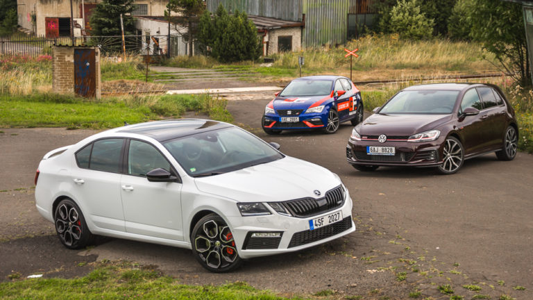Seat Leon vs Octavia RS vs Golf GTI-1