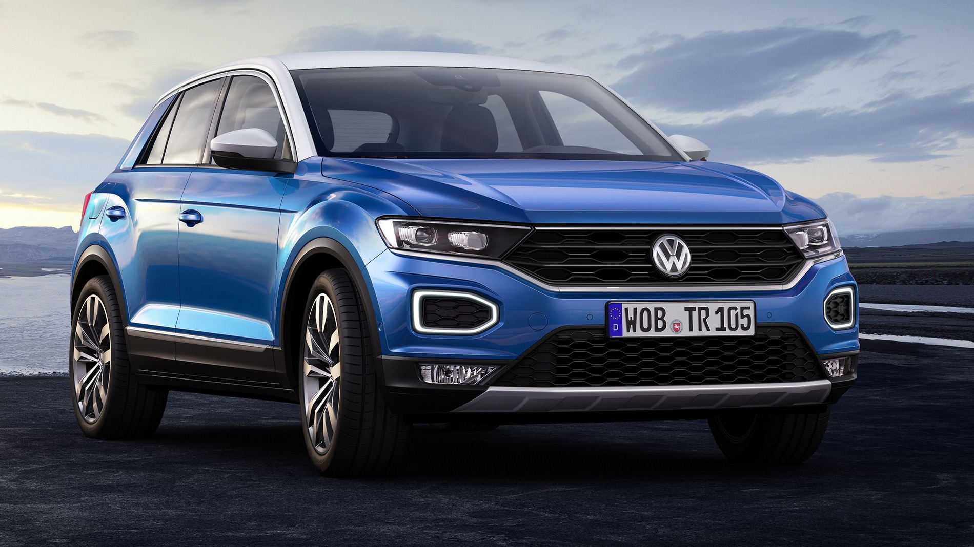 volkswagen t roc pou v techniku golfu je to u tvrt suv od vw. Black Bedroom Furniture Sets. Home Design Ideas