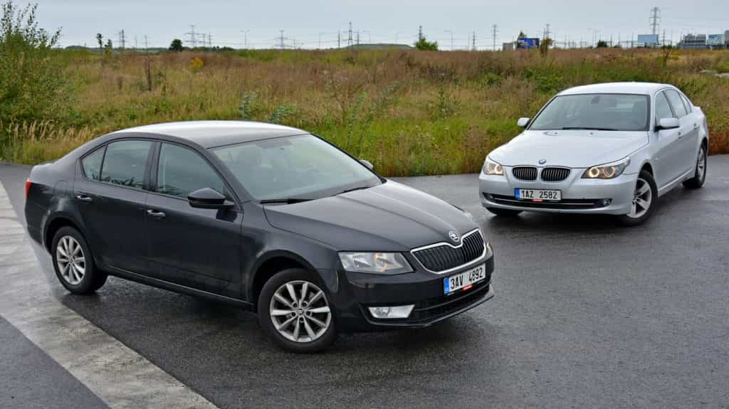 Skoda Octavia vs BMW 5