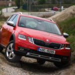 Towcar of The Year Skoda Octavia Scout