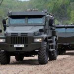 PATROL-A 4x4 Armored Truck and KAMAZ Typhoon 6x6 Armored Truck