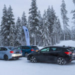 Subaru Snow Driving -1