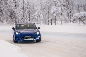 Subaru Snow Driving -10