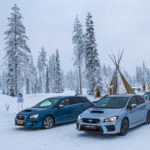 Subaru Snow Driving -2