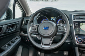 Subaru Snow Driving -26