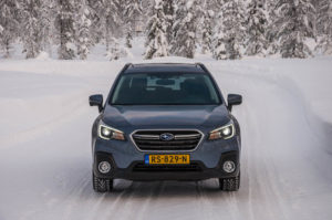 Subaru Snow Driving -31