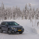 Subaru Snow Driving -33