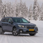 Subaru Snow Driving -34