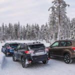 Subaru Snow Driving -4