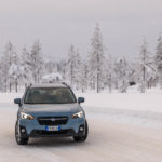 Subaru Snow Driving -9