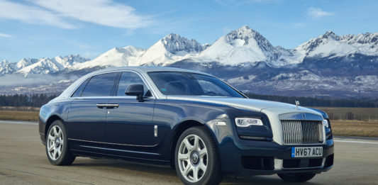 Rolls-Royce Winter Drive