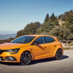 2018 - New Renault MEGANE R.S. Sport chassis tests drive in Spain