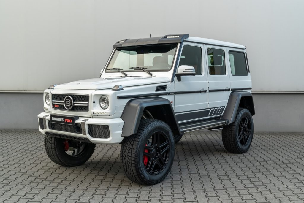 Brabus 700 4x42 one of ten 2