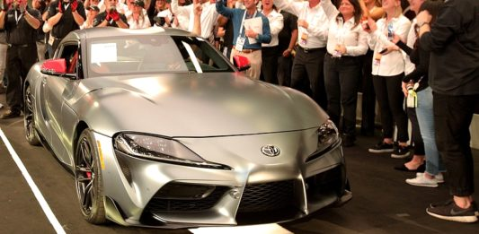 Toyota gR Supra Auction