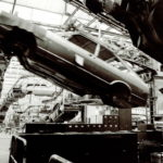 Production of the Volkswagen Passat at the Emden factory 1978