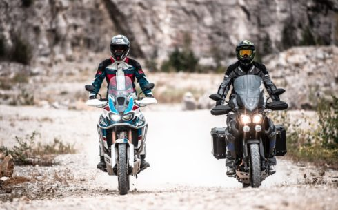 Srovnávací test: Honda Africa Twin AS vs. Yamaha Super Ténéré  RE