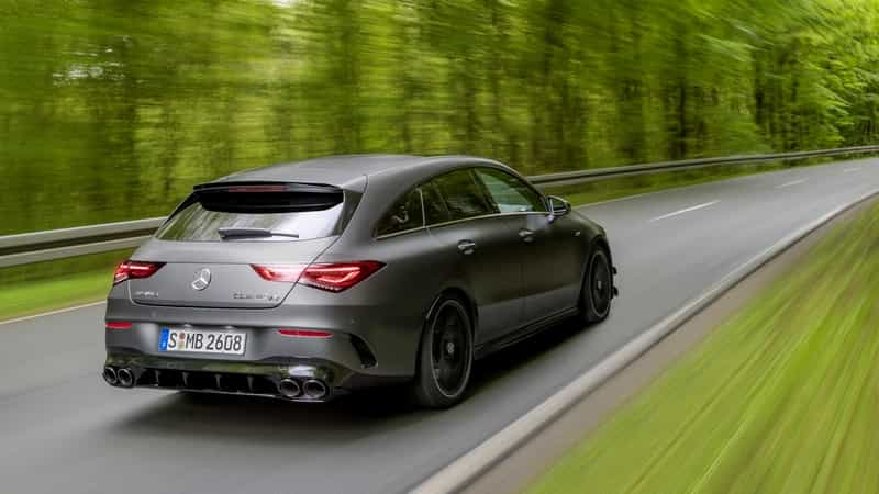 Komu ujede nový Mercedes-AMG CLA 45 4Matic+ Shooting Brake?