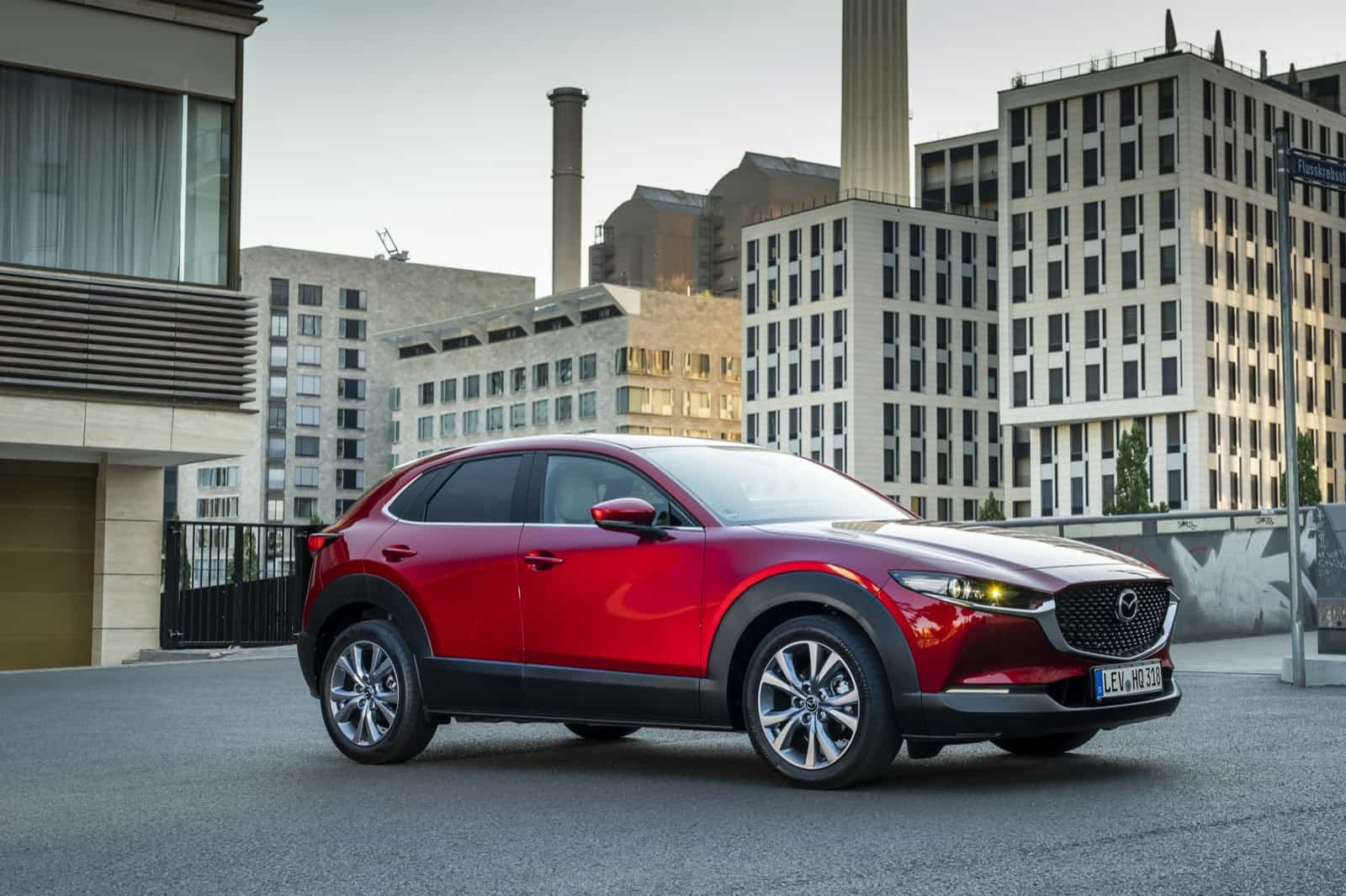 Mazda CX-30_Exterior_Soul Red Crystal_11