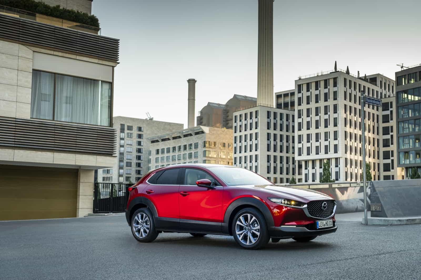 Mazda CX-30_Exterior_Soul Red Crystal_12