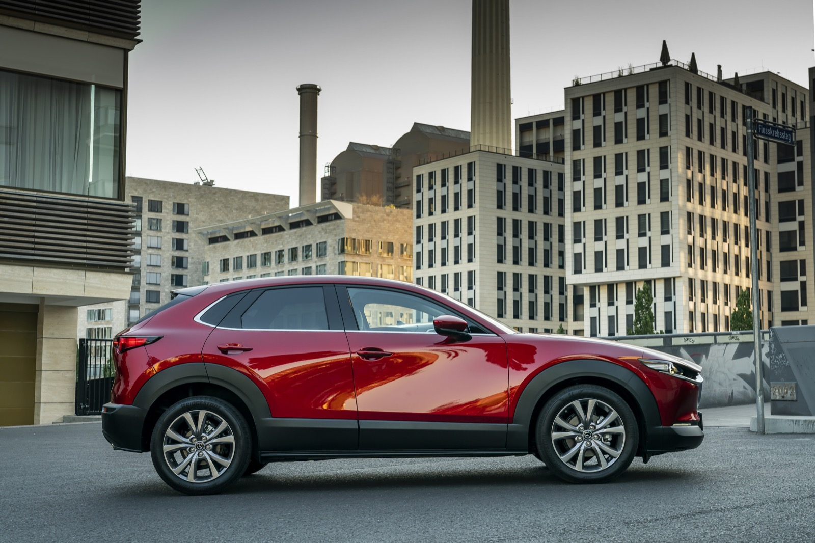 Mazda CX-30_Exterior_Soul Red Crystal_15