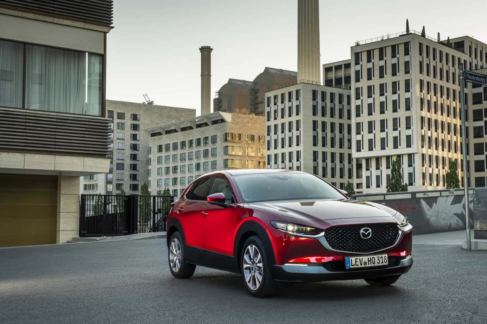 Mazda CX-30_Exterior_Soul Red Crystal_9