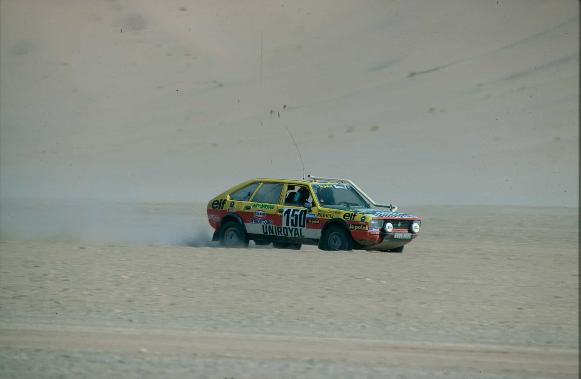 1982 – Renault 20 Turbo 4X4 Paris-Dakar