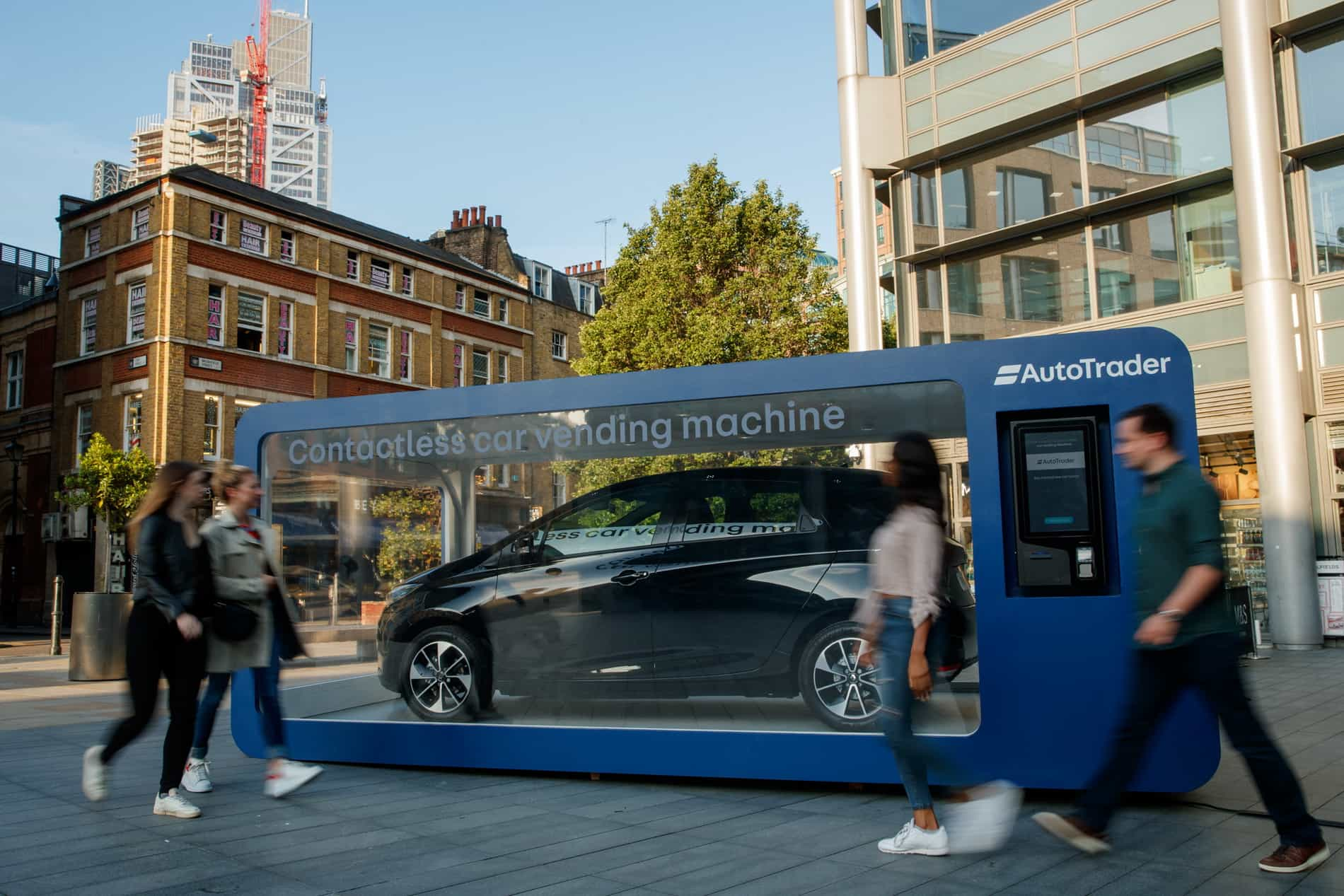 AutoTrader – World's First Car Vending Machine, London, 21st August 2019