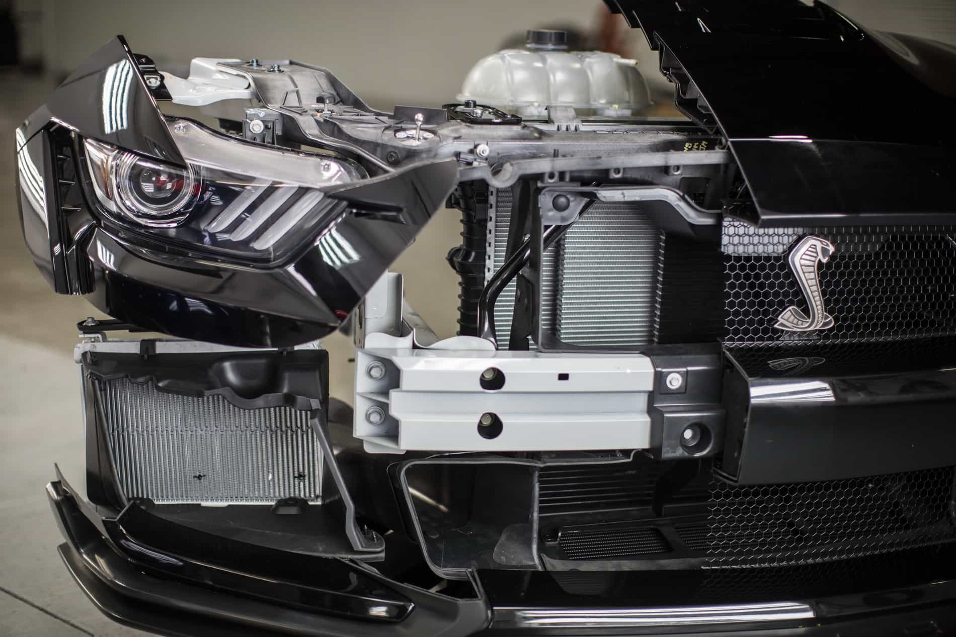 2020 Shelby GT500 cooling