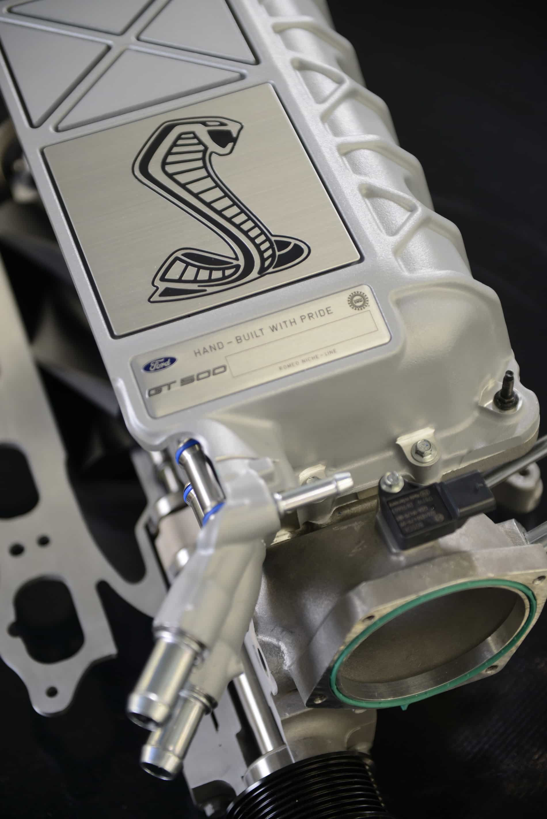 2020 Shelby GT500 supercharger