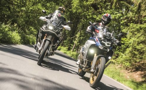 Srovnávací test: Honda CRF1000L Africa Twin Adventure Sports vs. BMW F 850 GS Adventure