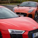 Duel Audi R8 V10 Plus vs Jaguar F-Type SVR -2