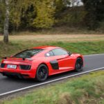 Duel Audi R8 V10 Plus vs Jaguar F-Type SVR -77
