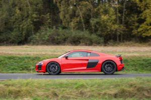 Duel Audi R8 V10 Plus vs Jaguar F-Type SVR -78
