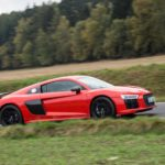 Duel Audi R8 V10 Plus vs Jaguar F-Type SVR -79