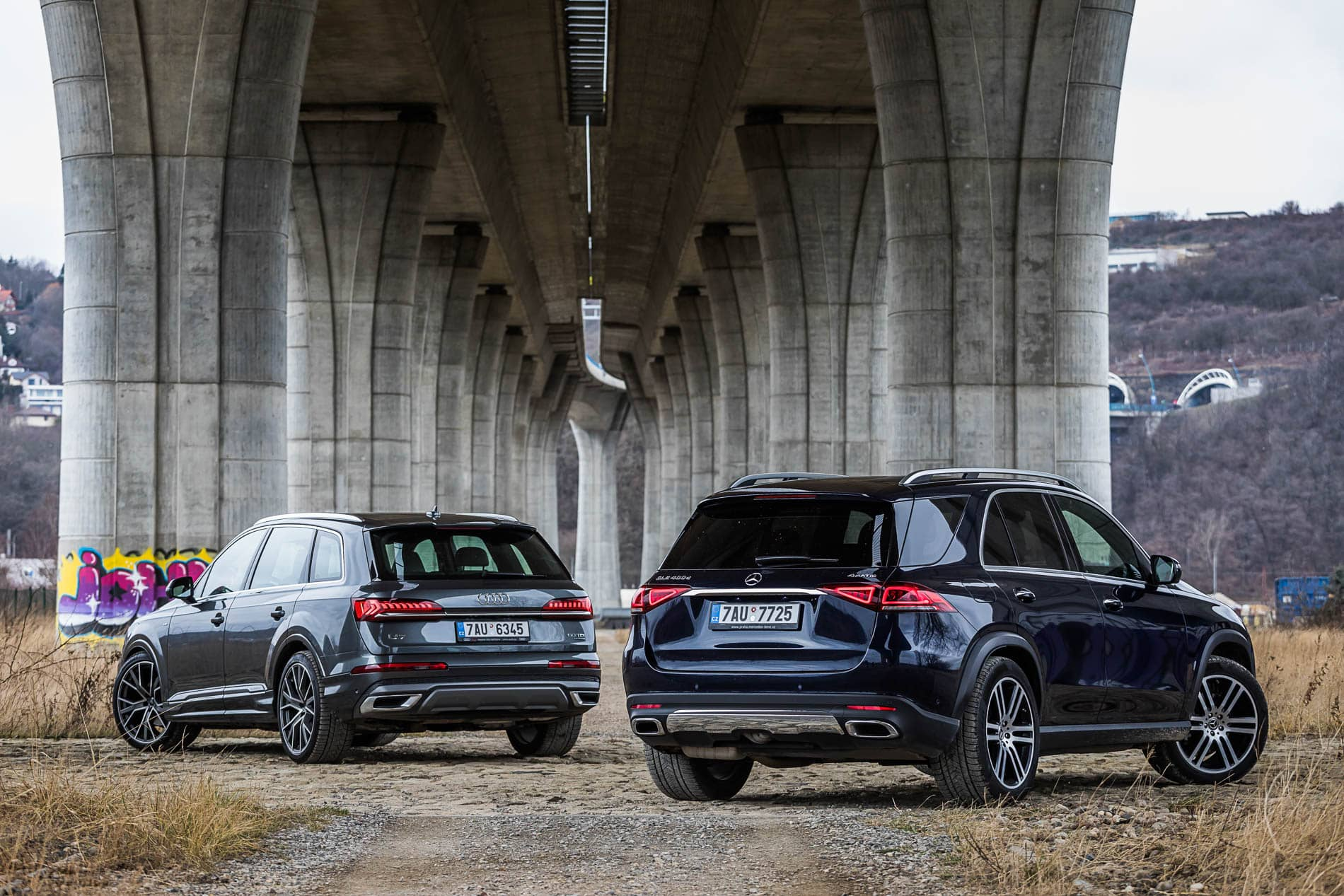 aud q7 vs mercedes gle (7)