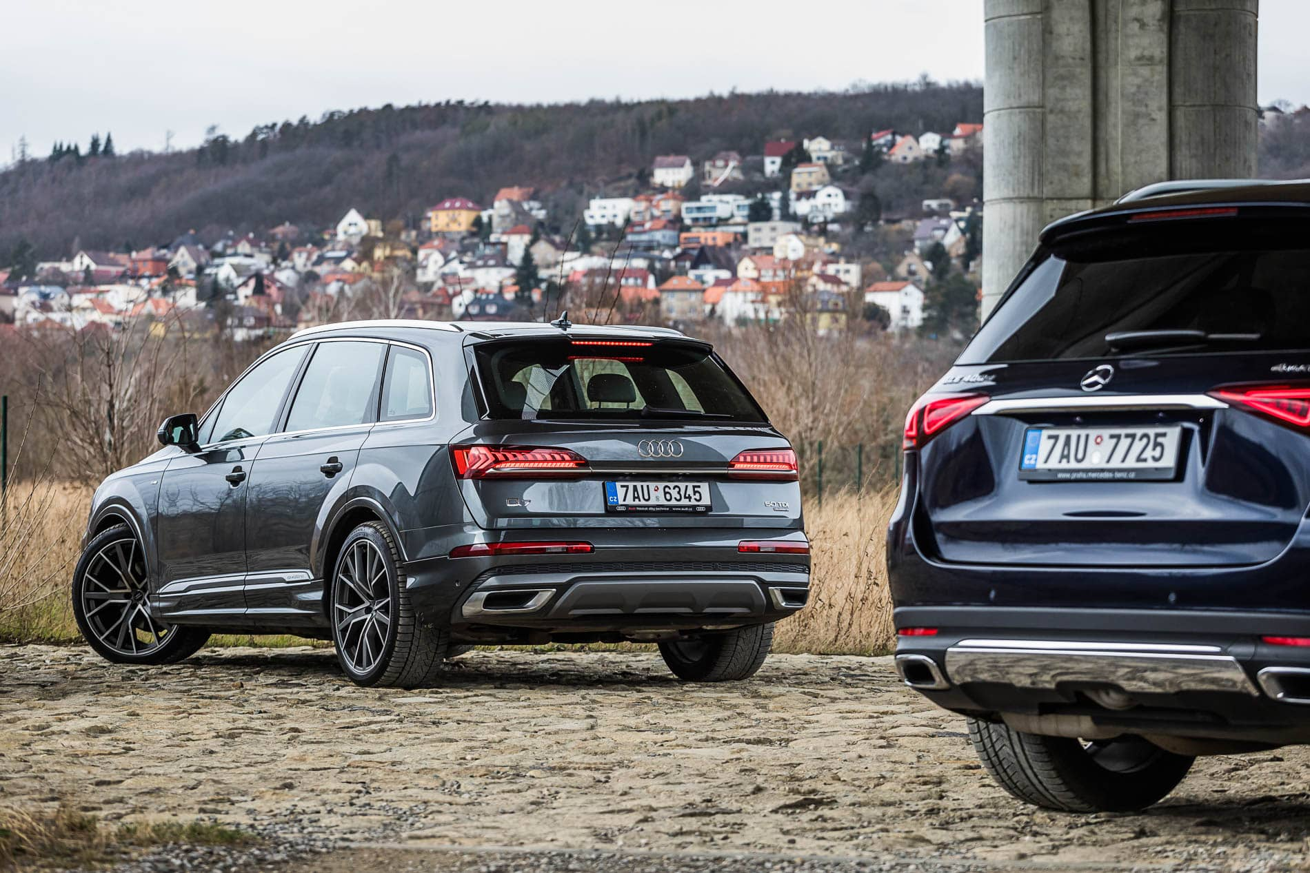 aud q7 vs mercedes gle (8)