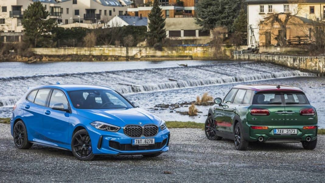 BMW M135i xDrive vs. Mini JCW Clubman
