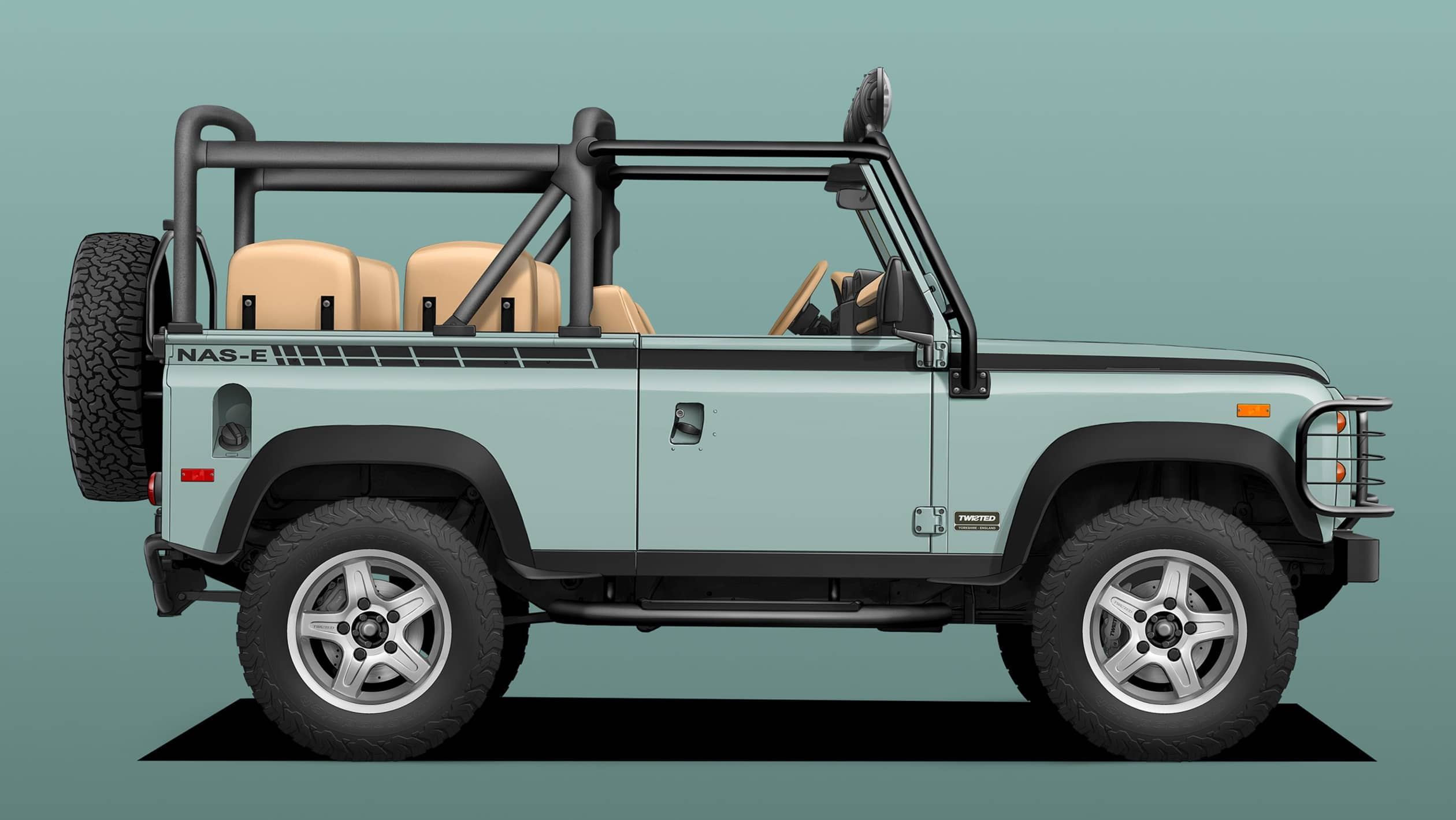 Twisted Land Rover Defender (13)