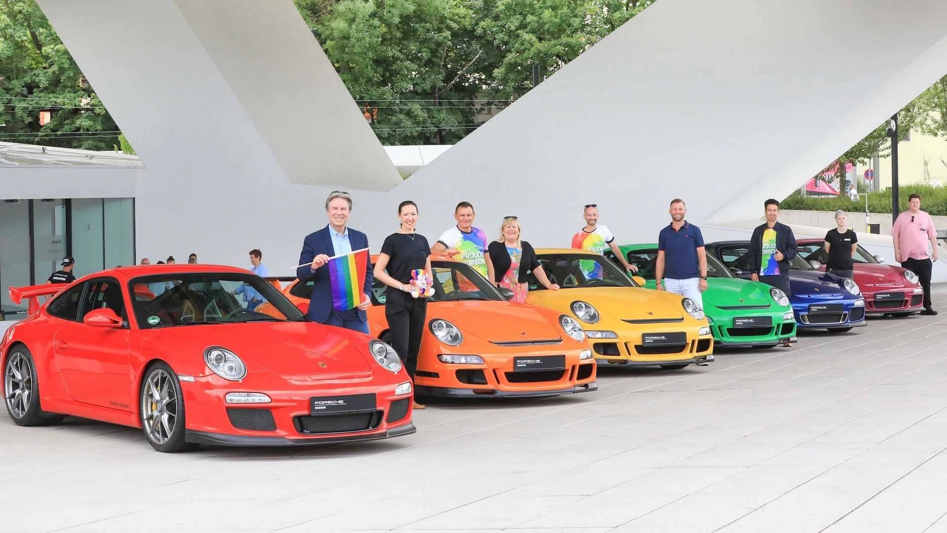 multi-colored-porsche-911s-for-gay-pride