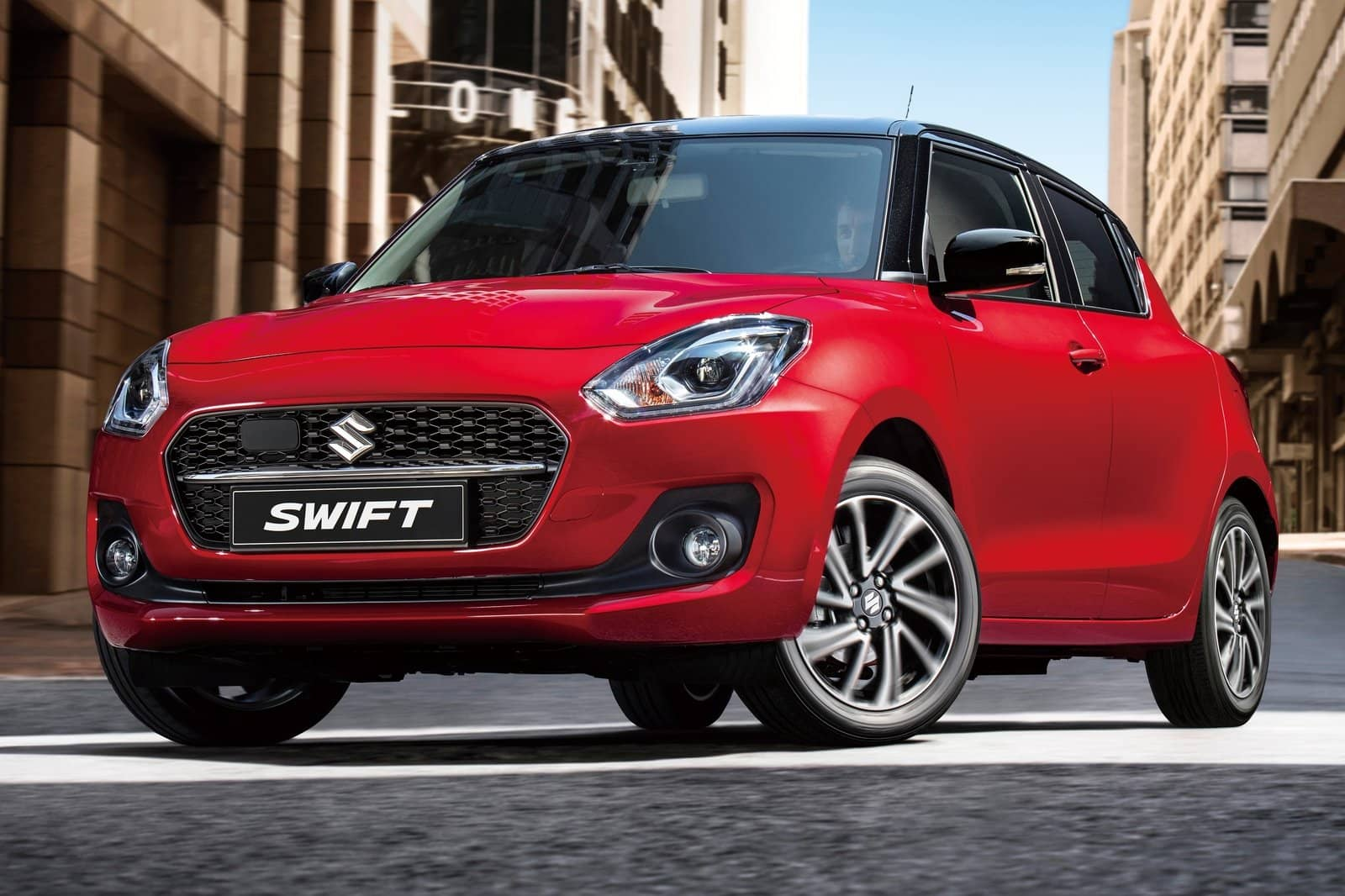 Suzuki Swift po faceliftu