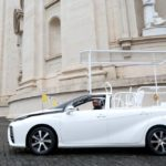 A hydrogen popemobile for His Holiness Pope Francis