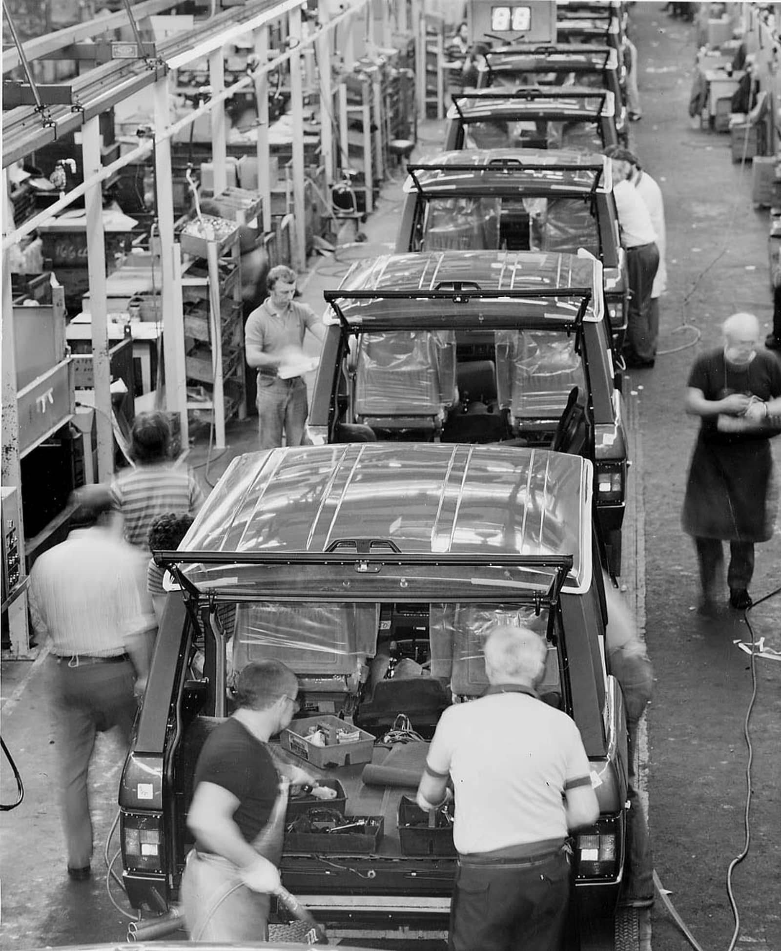 Range Rover Production