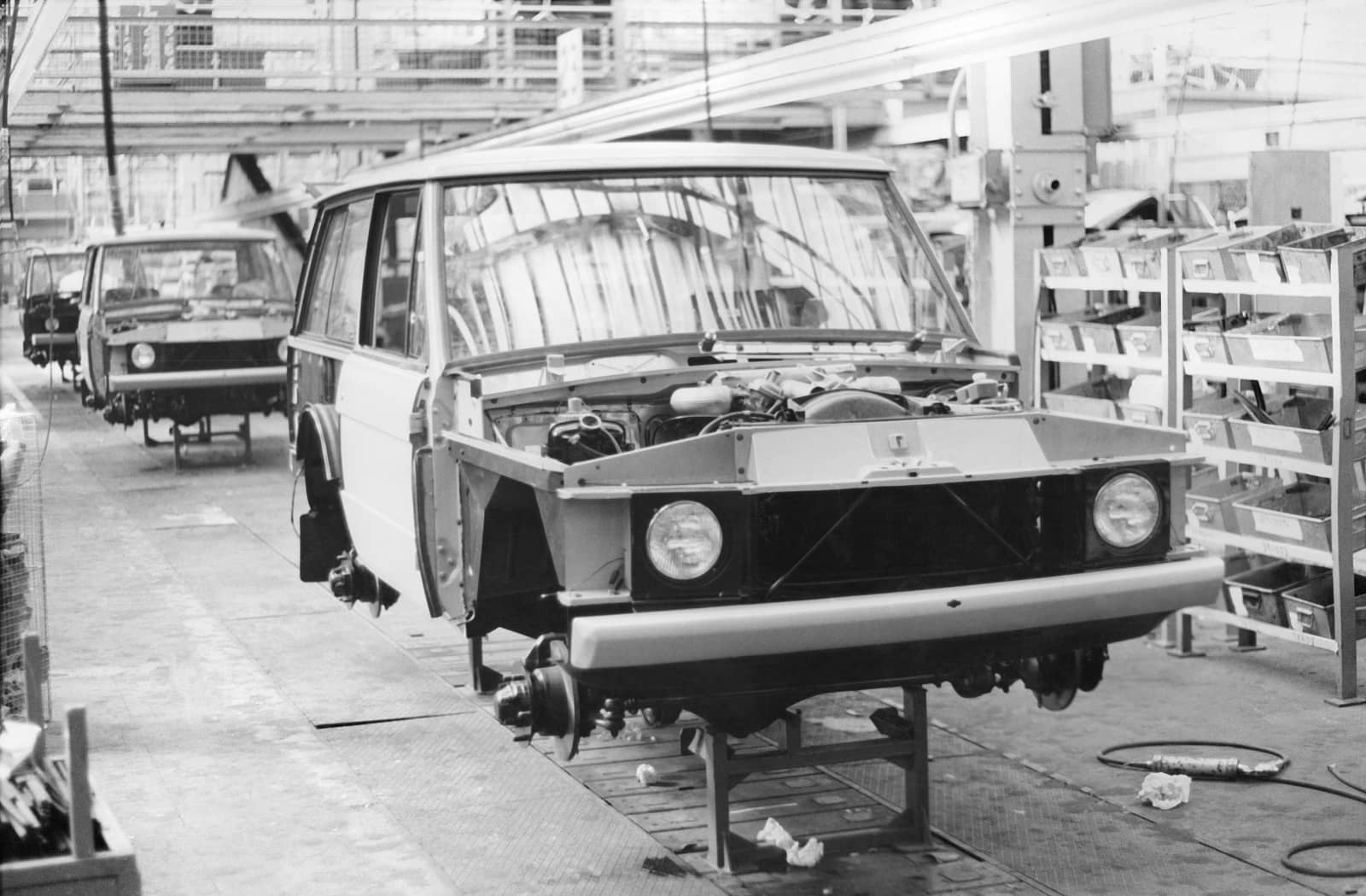 1970s Range Rover Production